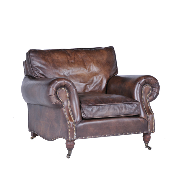 Balmoral Single Seater in Antique Whisky 1x