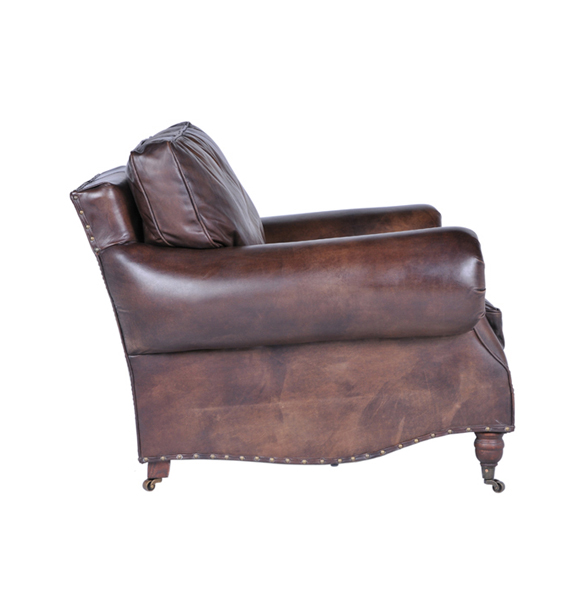 Balmoral Single Seater in Antique Whisky 2