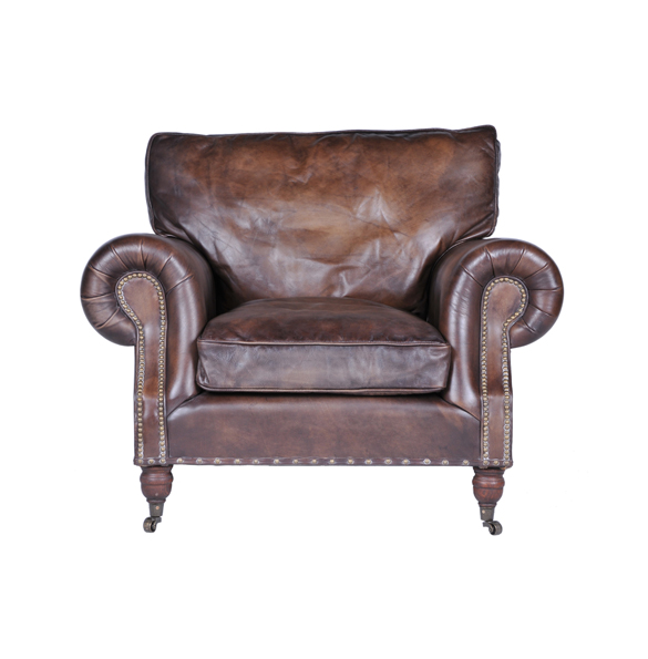 Balmoral Single Seater in Antique Whisky 3