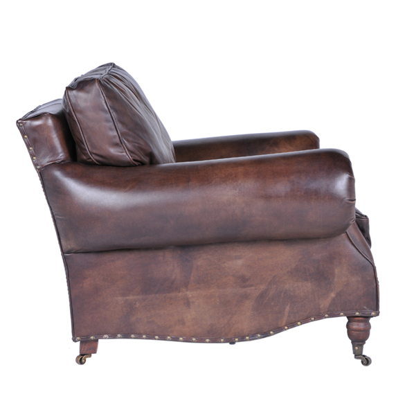 Balmoral Single Seater in Antique Whisky 3x2