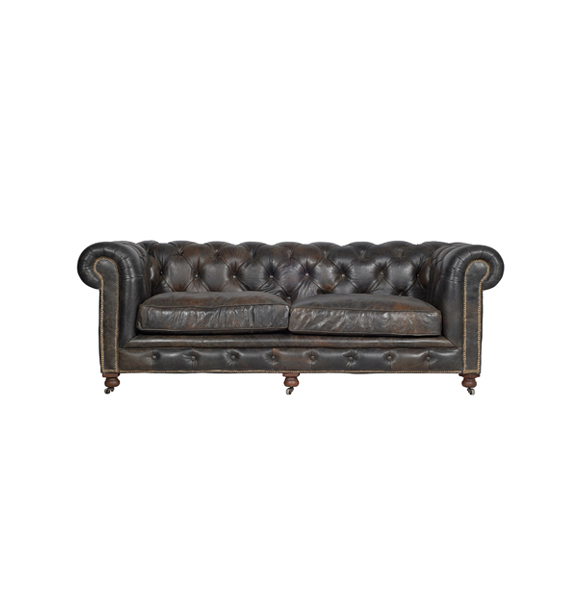 Kensington 2 Seater in Old Glove Espresso 322