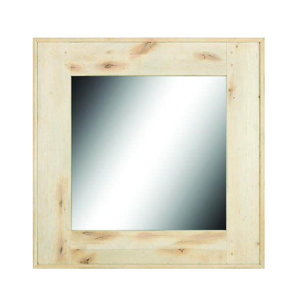 Sandshore Square Mirror in Bleached Oak 1