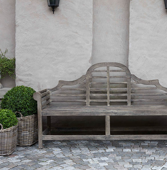Vintage Park Bench Styled