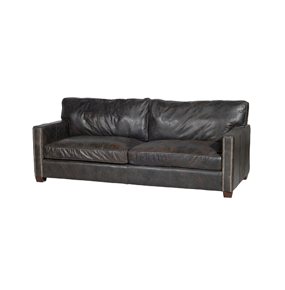 Viscount William Three Seater in Old Glove Espresso 2