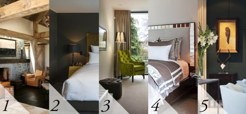 Five Places To Stay