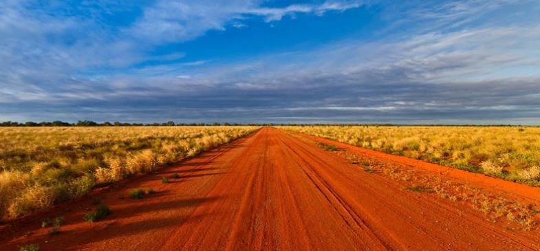 Outback Road Photography Mutawintji New South Wales Australia